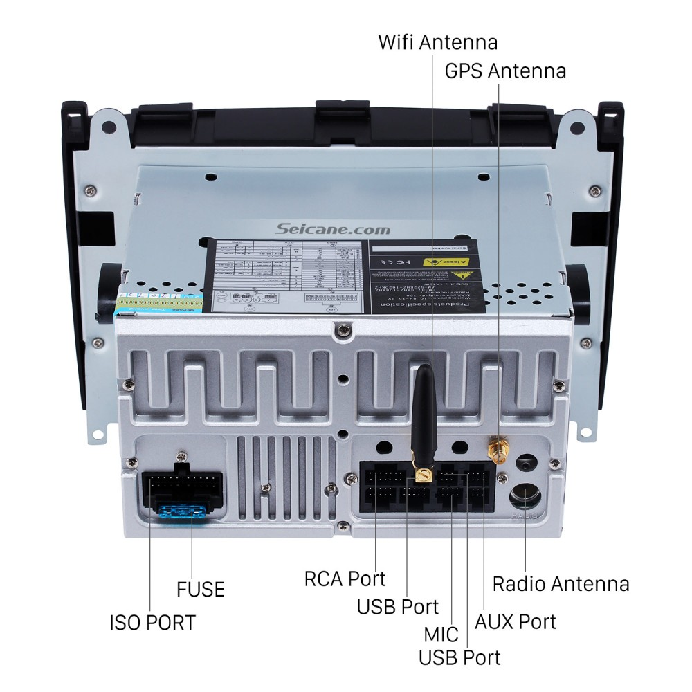 Android 8 0 GPS Radio GPS Navigation System for 2004-2012