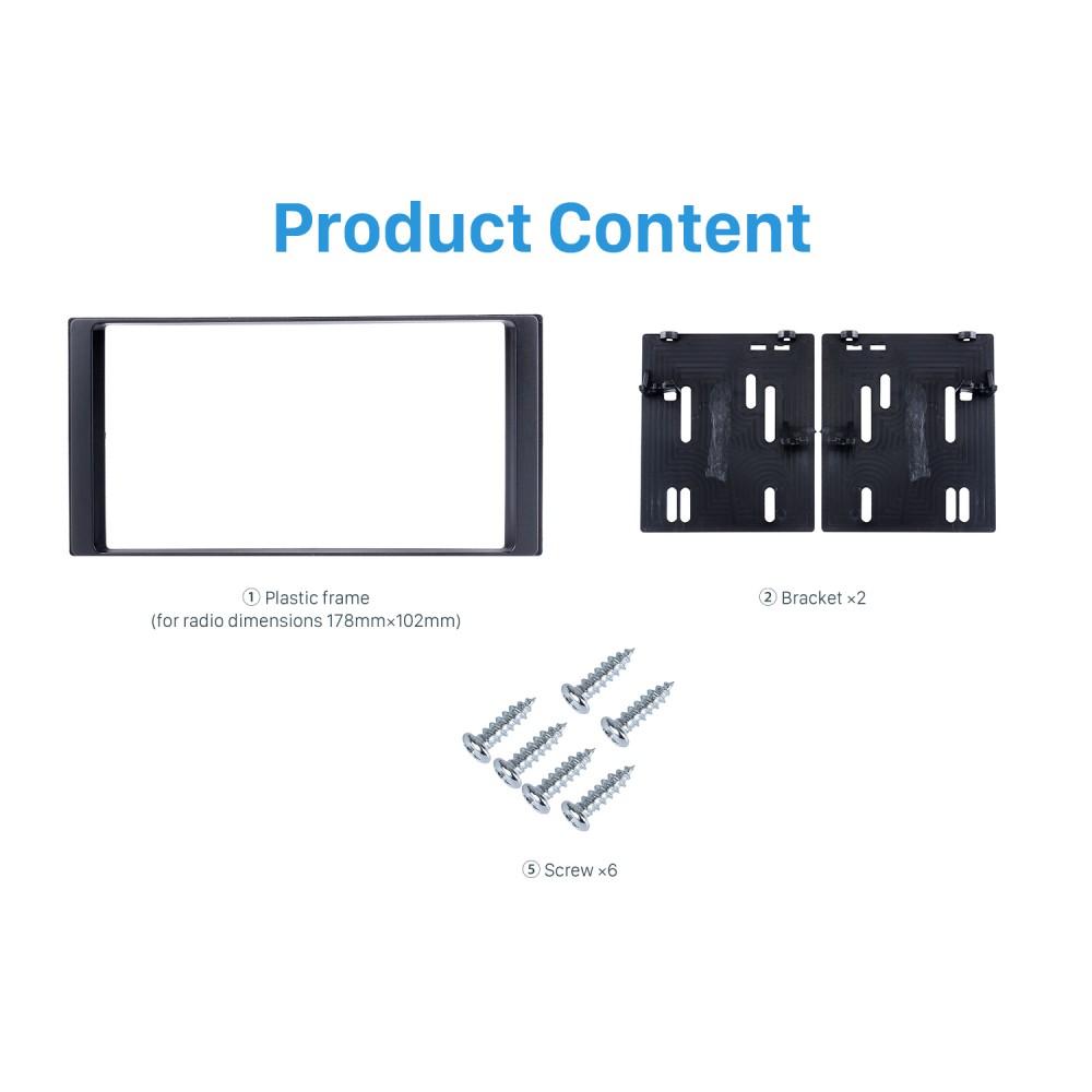 4Fit-9391-01 Adaptador De Antena ISO y DIN Combinado Para Radio//Subaru Impreza 08