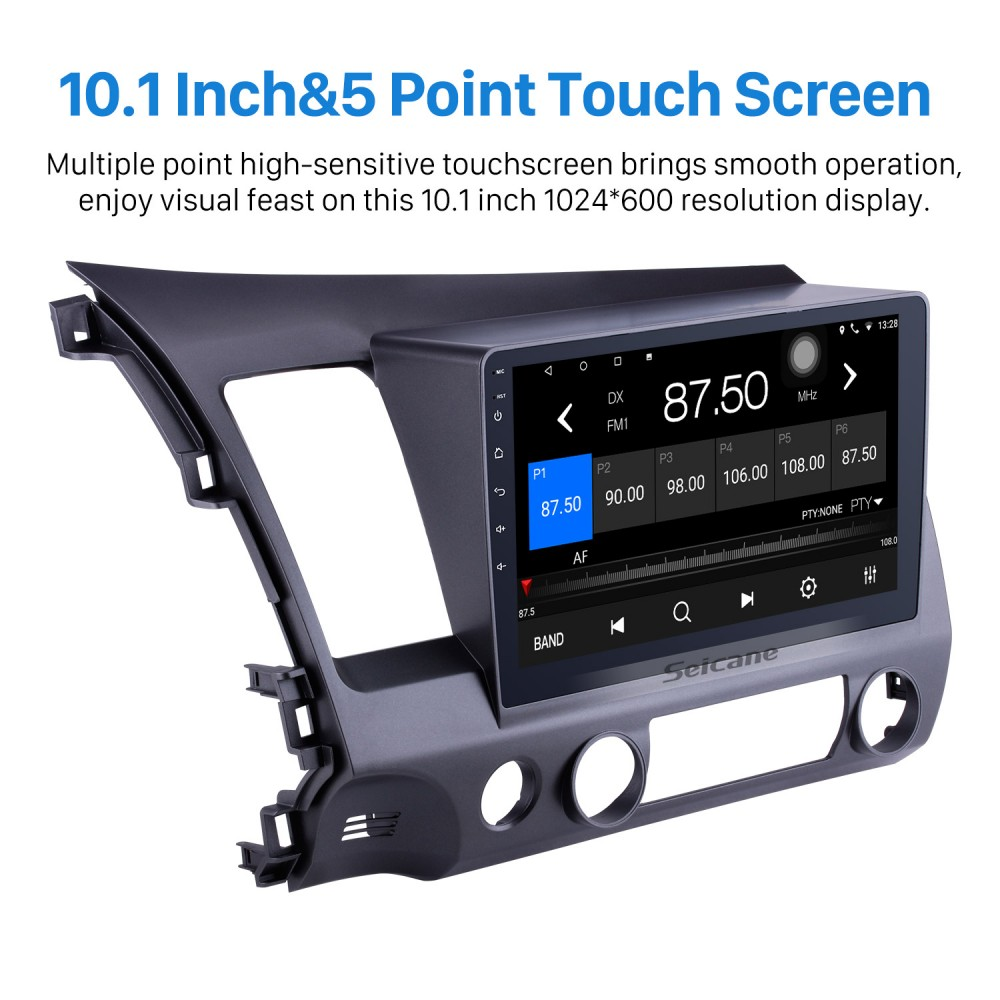 10 1 inch 1024*600 HD Touch Screen Android 6 0 GPS