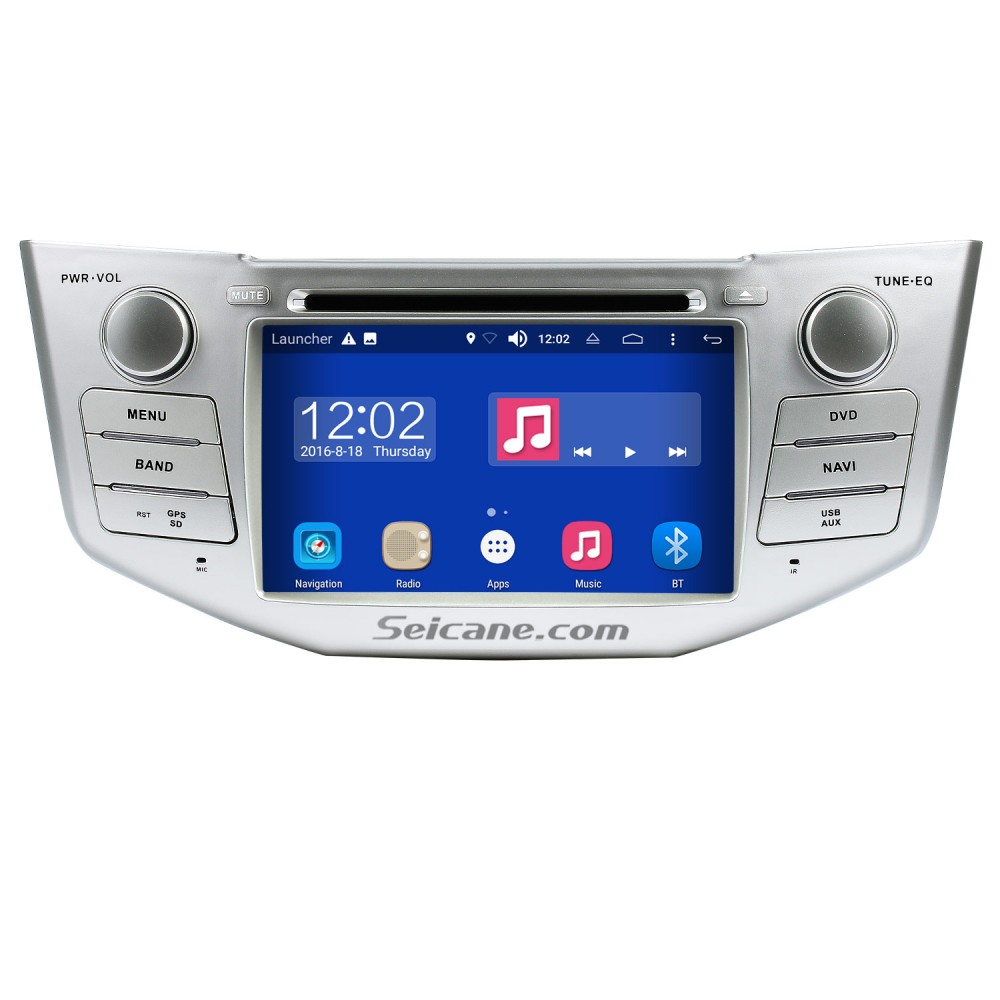 Android 8 0 GPS Navigation System for 2004-2010 Lexus RX 350