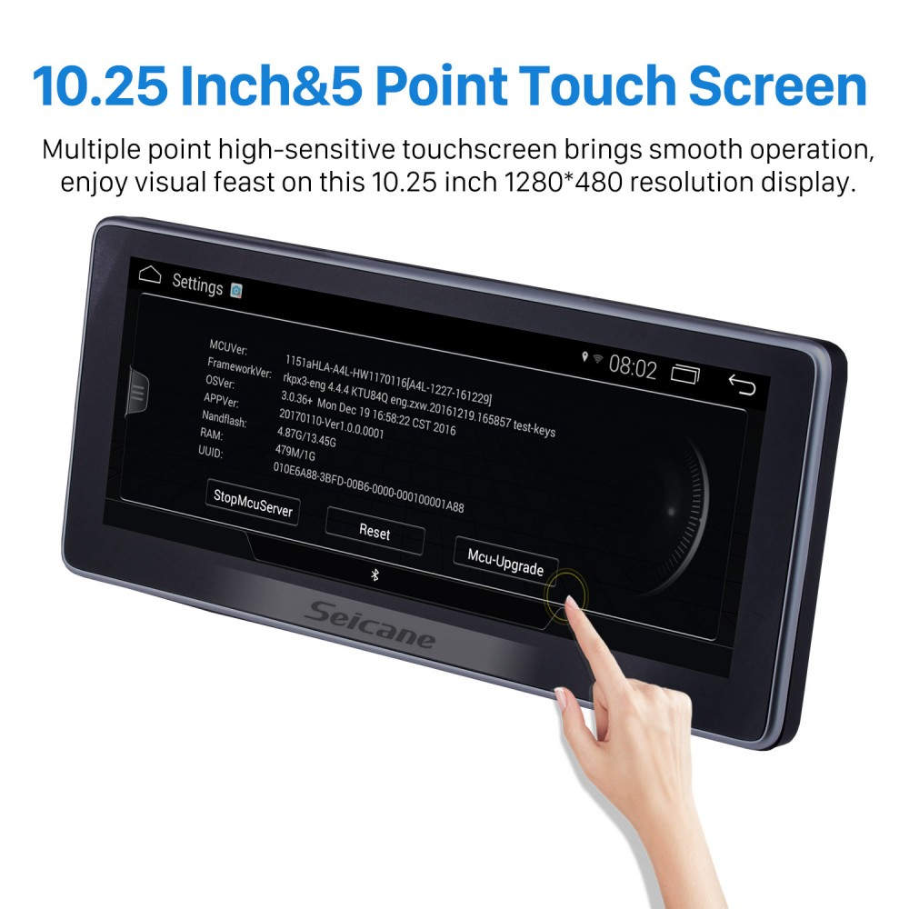 10 25 Inch Android 7 1 Car Radio Stereo Head Unit GPS