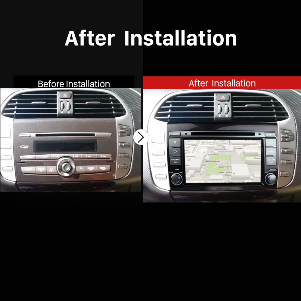 Android 7 1 GPS navigation Radio DVD player Bluetooth Stereo