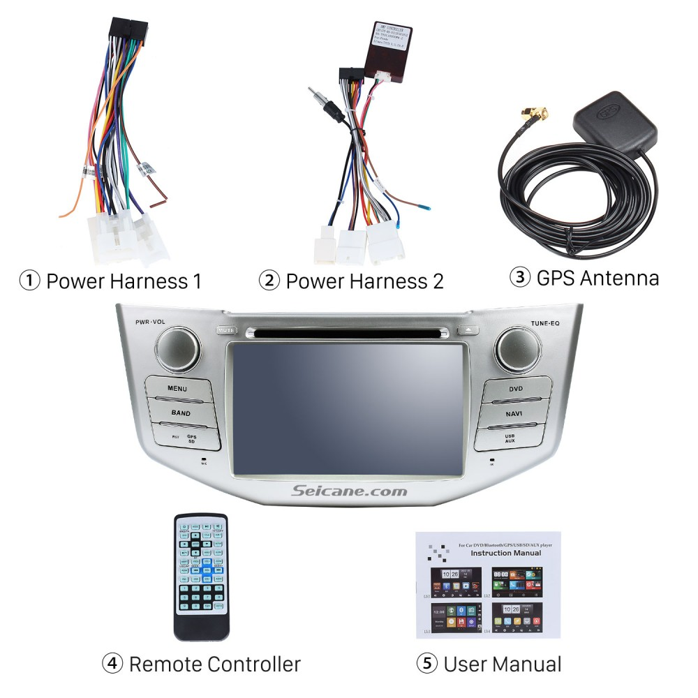 Android 8 0 GPS Radio GPS Navigation System for 2004-2010