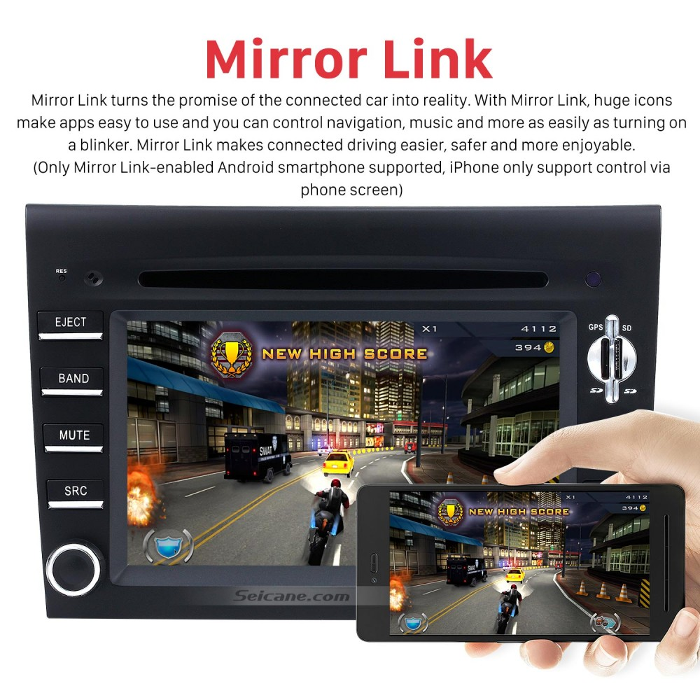 Android 8 0 GPS Navigation system for 2005-2008 Porsche 911