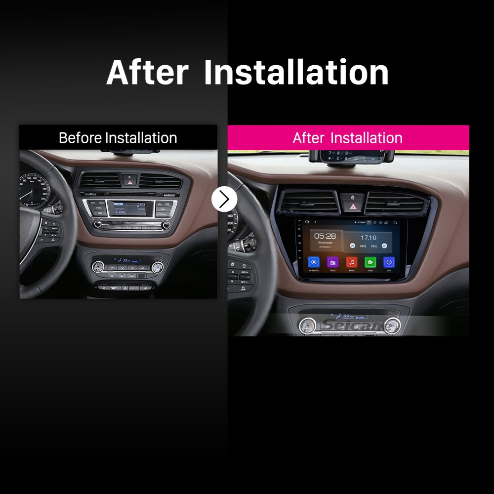 Aftermarket Android 9 0 navigation system Radio for 2014