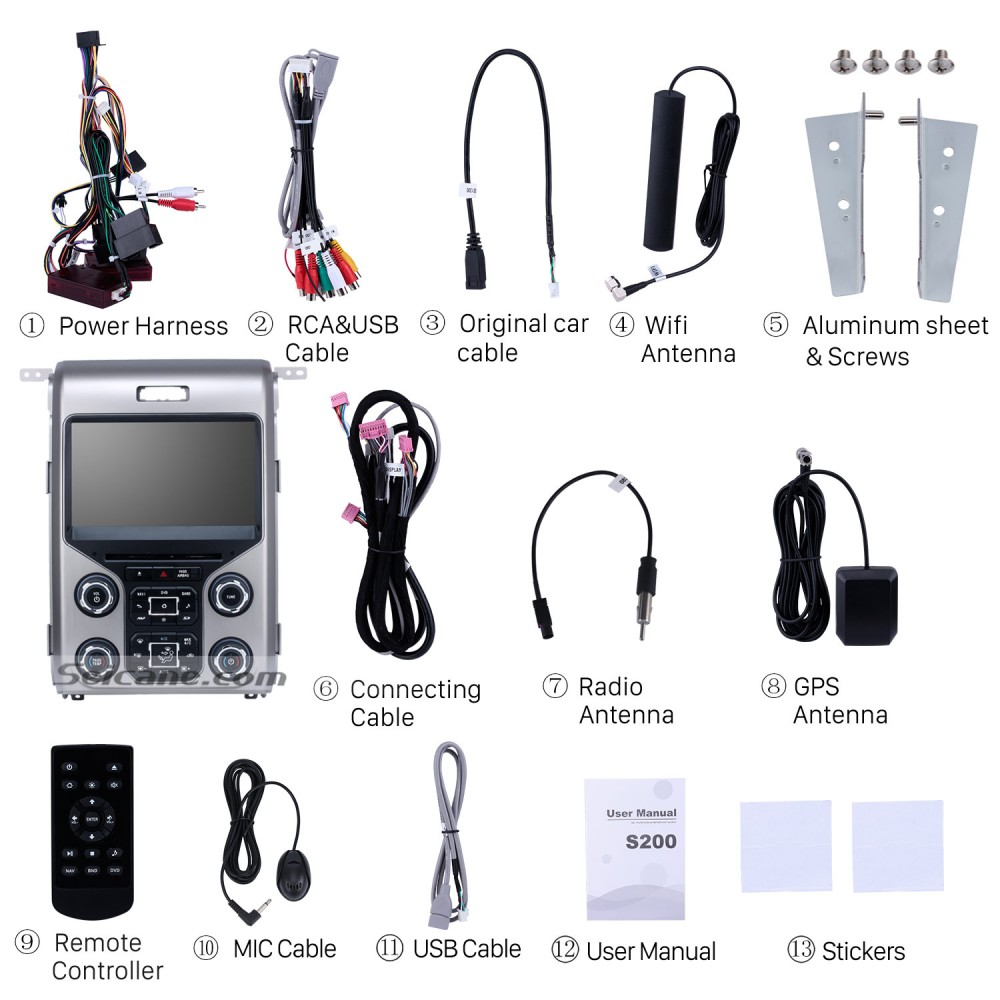 OEM Android 8 0 Radio GPS Navigation System for 2013 2014