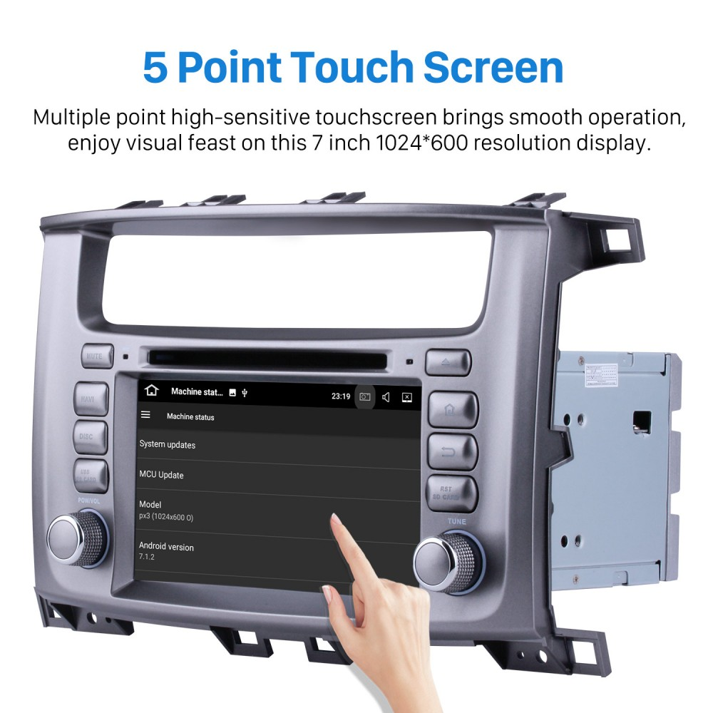 Android 7 1 GPS navigation Radio Bluetooth DVD player Stereo