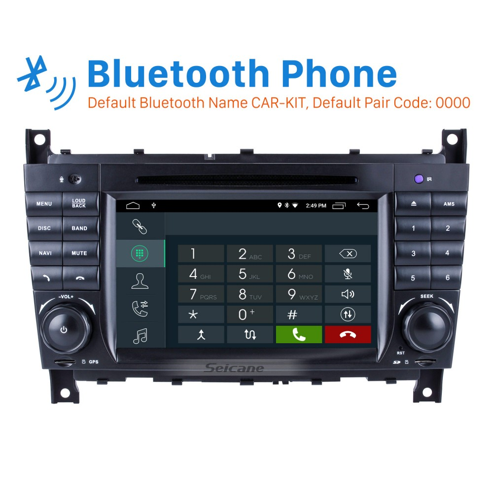 Android 9 0 In Dash Car DVD GPS System for 2004-2007