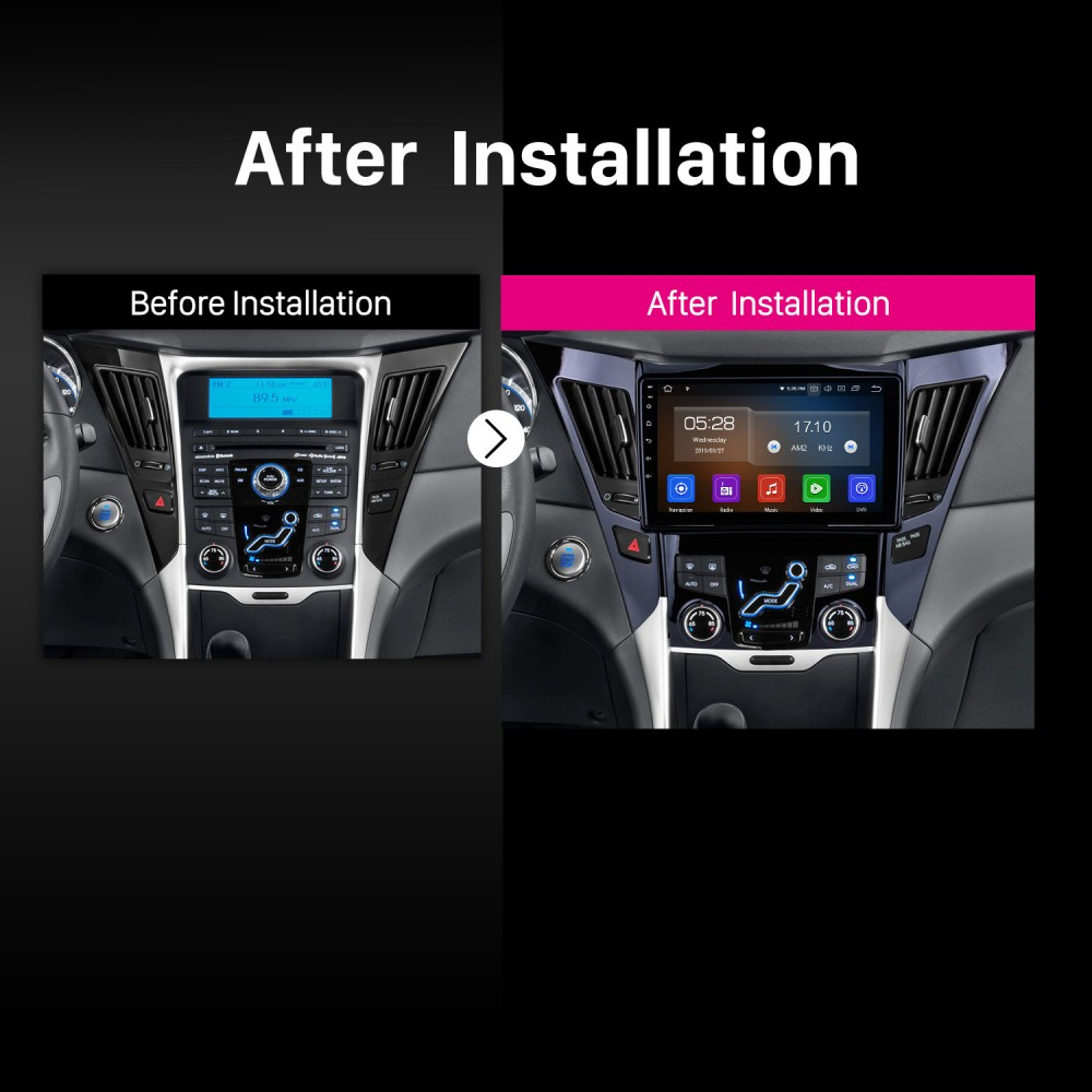 9 Inch Android 9 0 Touch Screen GPS Navigation system For