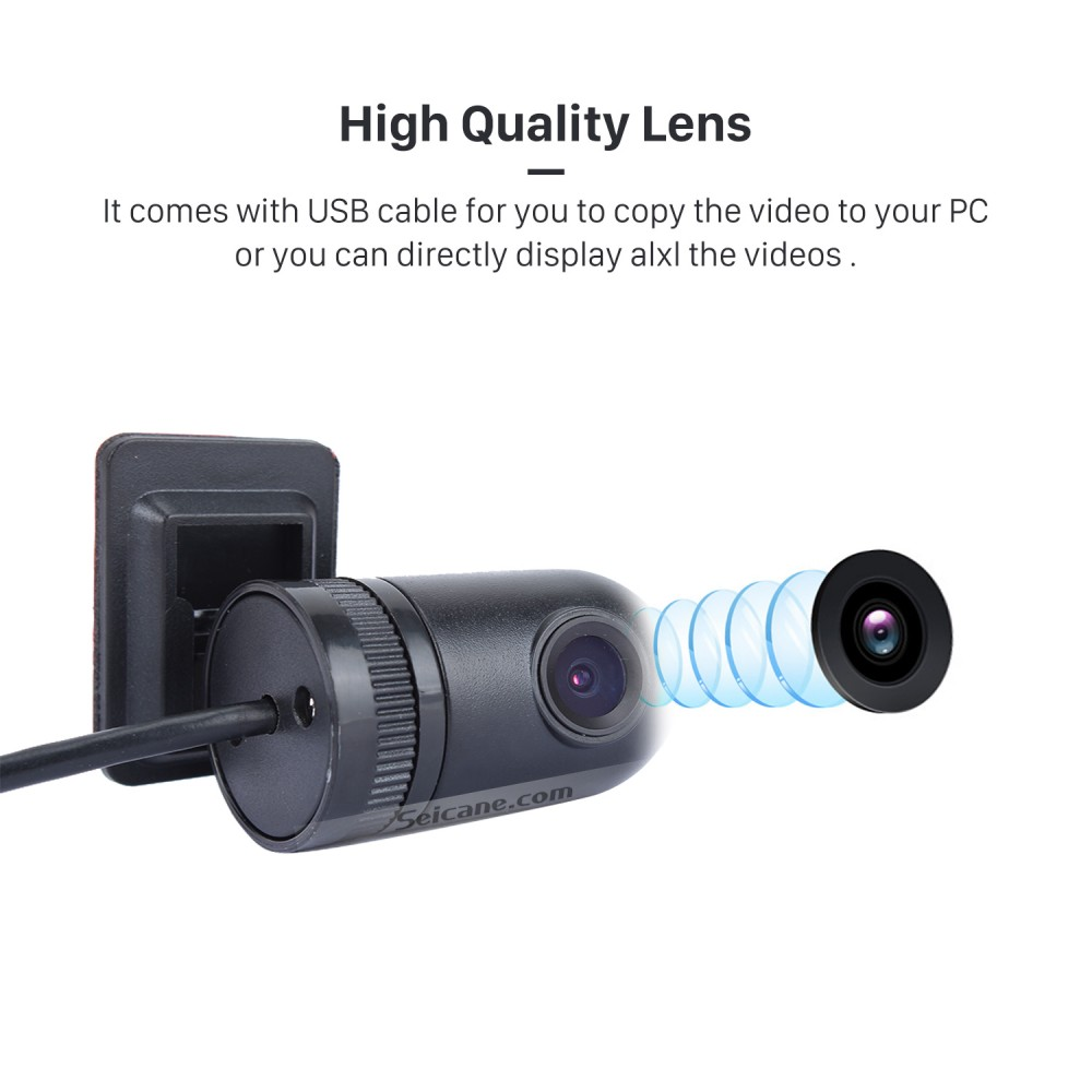 Seicane HD USB DVR Camera Recording video with Supporting