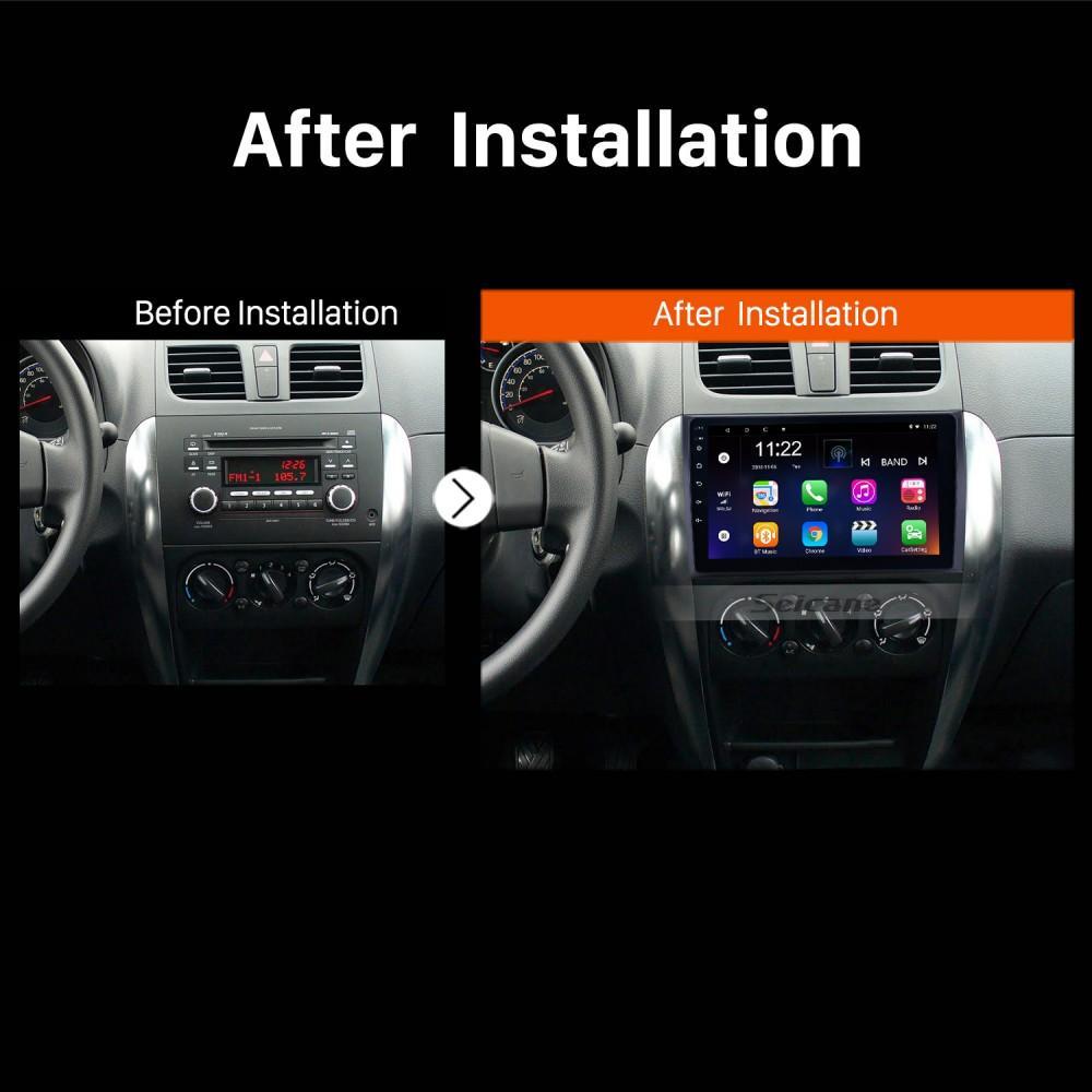 """9/"""" For Android 9.1 Quad-core 1GB+16GB Car Stereo Radio For 2006-2012 Suzuki SX4"""