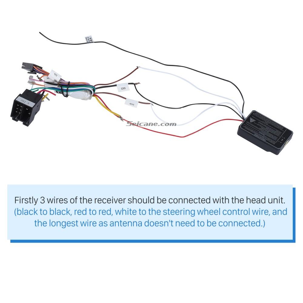 Universal multifunctional wireless steering wheel controller ... on