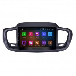 9 pouces Android 11.0 système de navigation GPS Radio pour 2015 2016 Kia Sorento avec lien miroir HD 1024 * 600 écran tactile OBD2 DVR caméra de vision arrière TV 1080 P vidéo 3G WIFI Commande au volant Bluetooth USB