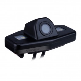 HD Caméra arrière LED pour 2003 2004 2005 2006 2007 Honda Accord 7 soutien étanche,preuve de choc et bonne vision de nuit avec pas besoin de percer le trou+Balance des blancs automatique