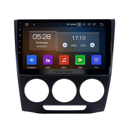 10,1 pouces 2013-2019 Honda Crider Manuel A / C Android 9.0 Radio de navigation GPS Bluetooth HD Écran tactile support Carplay Miroir Lien