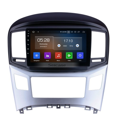 Android 4.4.4 2016 HYUNDAI H1 Radio Upgrade with DVD Player GPS Navigation Car Stereo Touch Screen Bluetooth Mirror Link OBD2 AUX 3G WiFi DVR 1080P Video