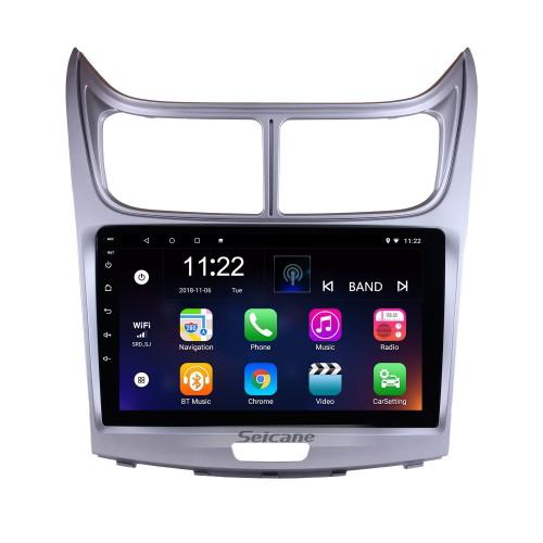 9 pouces écran tactile Android 5.0.1 HD unité 2016 Škoda Yeti Radio Bluetooth GPS Head avec miroir Lien OBD2 TPMS DVR Rearview caméra TV numérique Volant Wifi Wheel Control 3G