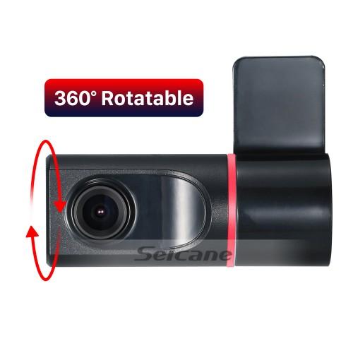 Caméra d'enregistrement USB DVR Seicane HD avec prise en charge du DVD de voiture Android