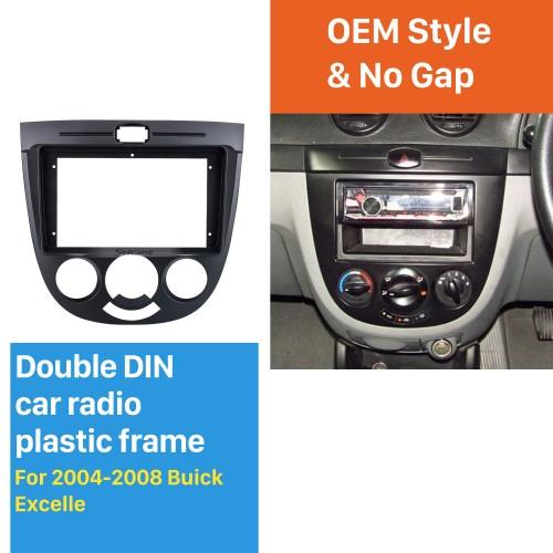 Dans le cadre noir du tableau de bord 9 pouces pour 2004-2008 Buick Excelle Fascia panneau de lunette kit de garniture garniture de couverture Style OEM