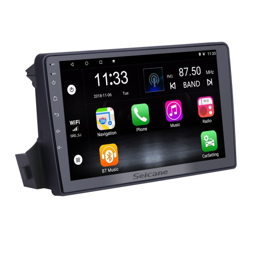 Écran tactile HD 9 pouces pour 2005 2006 2007-2011 SsangYong Actyon / Kyron Radio Android 10.0 Navigation GPS avec support Bluetooth Carplay DAB +