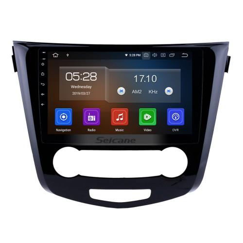 10.1 pouces Pour 2014 2015 2016 Nissan Qashqai Android 10.0 Système de navigation GPS Radio avec Bluetooth TPMS USB AUX 3G / 4G WIFI Commande au volant