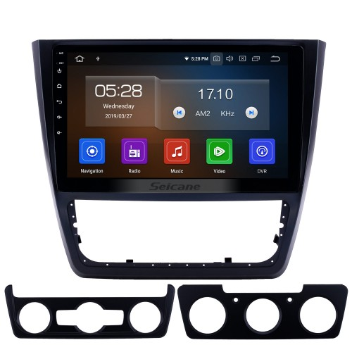 10,1 pouces 2014-2018 Skoda Yeti Android 10.0 Radio de navigation GPS Bluetooth HD à écran tactile AUX USB support Carplay Miroir Lien