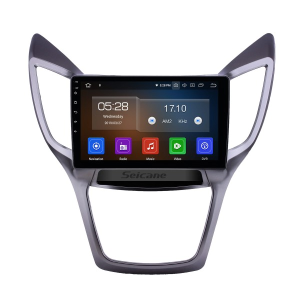 10,1 pouces 2013-2016 Changan CS75 Android 9.0 Radio de navigation GPS Bluetooth HD à écran tactile AUX USB Assistance Carplay OBD2 1080P Vidéo