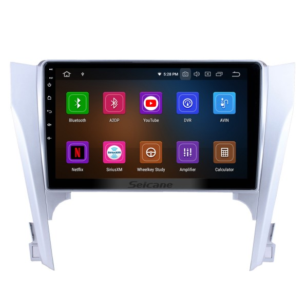 8 inch Android 4.4.4 head unit GPS navigation system for 2012 Toyota CAMRY with DVD player Bluetooth Mirror link Radio Capacitive multi-touch screen OBD DVR Rear view camera TV 3G WIFI USB SD IPOD Quad-core CPU 16G Flash