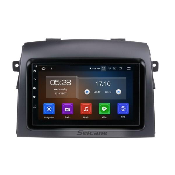 Système de navigation Android 9.0 2004-2010 Toyota Sienna Radio GPS avec écran tactile HD de contrôle Volant de sauvegarde de l'appareil Bluetooth 3G WIFI