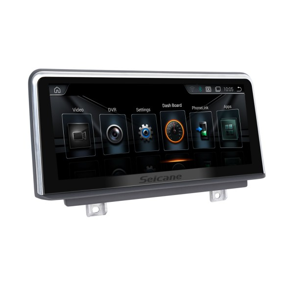 10,25 pouces Android 10.0 HD écran tactile 2013-2016 BMW série 4 F32 / F33 / F36 NBT GPS Radio Head Unit Bluetooth Music Support WIFI Caméra de recul Commande au volant USB OBD2