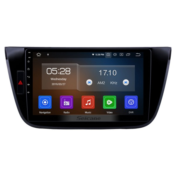 10,1 pouces Android 9.0 Radio pour 2017-2018 Changan LingXuan Bluetooth à écran tactile GPS Navigation Carplay USB AUX support TPMS SWC