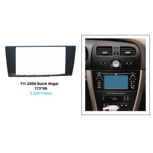 173 * 98mm Double Din 2006 Buick Regal Voiture Radio Fascia Garniture Lunette Autostereo Interface Tableau de Bord Cadre de Montage