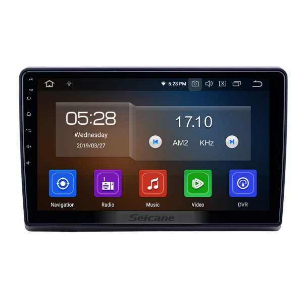 10,1 pouces Android 10.0 Radio de navigation GPS pour 2009-2019 Ford New Transit Bluetooth HD écran tactile AUX Carplay support caméra de recul