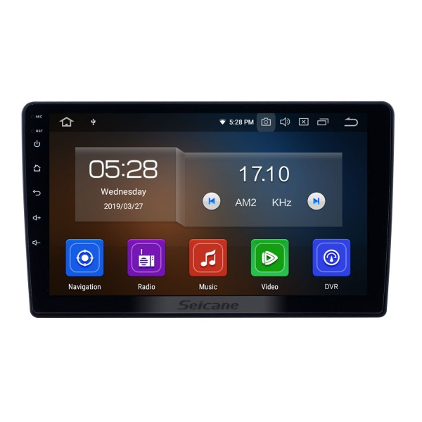 OEM 9 pouces Android 10.0 pour 2011-2017 Lada Granta Bluetooth HD à écran tactile GPS Navigation Radio support Carplay OBD2 TPMS