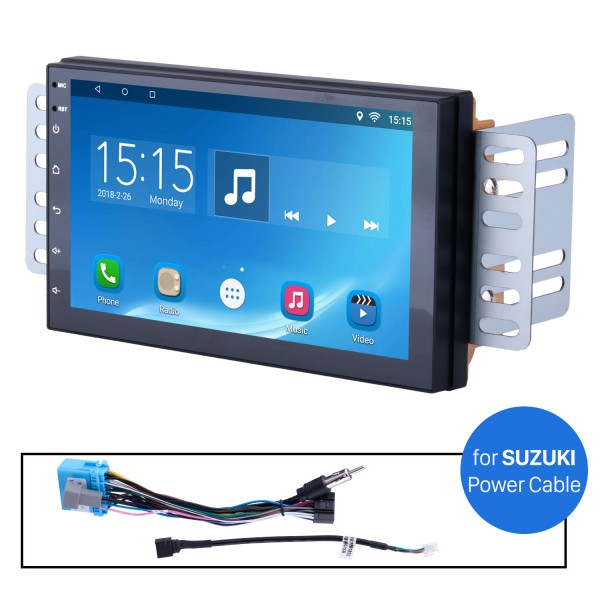 Car Radio Stereo Head Unit Power Cables For Suzuki For Model H605E
