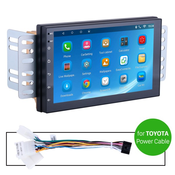 Car Radio Stereo Head Unit Power Cables For Toyota For Model H605E
