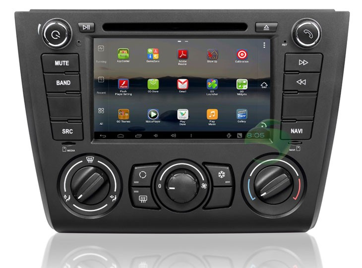 BMW 1 Séries 120i E87(2004-2012)  android autoradio gps dvd