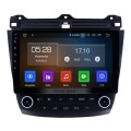 10,1 pouces HD 1024 * 600 Écran tactile 2003 2004 2005 2006 2007 Honda Accord 7 Android 9.0 Radio Navigation GPS Bluetooth USB WIFI 1080P Assistance OBD2 DVR Rearview