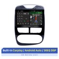10,1 pouces pour 2012-2016 Renault Clio numérique / analogique (MT) Android 10.0 HD Écran tactile Système de navigation GPS stéréo automatique Prise en charge Bluetooth Stéréo de voiture 3G / 4G WIFI OBDII Contrôle vidéo au volant DVR