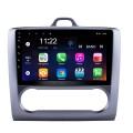 9 pouces HD Touchscrren Android 8.1 2004-2011 Ford Focus Exi AT Radio avec navigation GPS WIFI Bluetooth USB Musique 1080P Lien miroir vidéo Caméra de recul