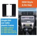 1DIN 2000+ AUDI A2 2000 AUDI A3 Kit d'installation du panneau Stereo Frame 1999-2011 AUDI A4 1999-2004 AUDI A6 Car Radio Fascia