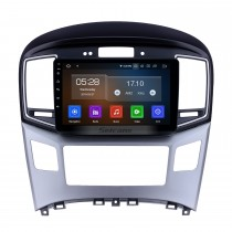 9 pouces 2015 Hyundai Starex H1 Android 9.0 Radio de navigation GPS Bluetooth HD à écran tactile AUX USB Carplay supporte Mirror Link