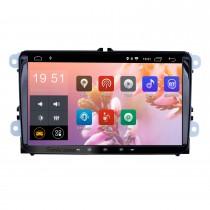 9 pouces 2006-2012 VW VOLKSWAGEN MAGOTAN Android 9.0 HD Radio à écran tactile Navigation GPS avec Bluetooth WIFI 1080P USB Mirror Link DVR Caméra de recul