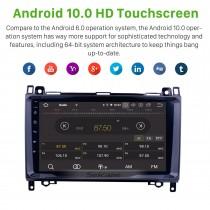 2004-2012 Mercedes Benz Classe B W245 B150 B160 B170 B180 B200 B55 Android 9.0 Radio 9 pouces 1024 * 600 Écran tactile Musique Bluetooth Système de navigation multimédia Lien Miroir WiFi Vidéo 1080P