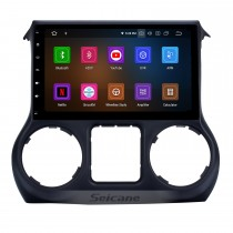 10.1 pouces 1024 * 600 Android 10.0 2011 2012 2013 2014 2015 2016 2017 JEEP Wrangler Bluetooth GPS Radio autoradio avec lien miroir Wifi commande au volant
