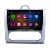 10,1 pouces Android 11.0 HD Radio à écran tactile pour 2004-2011 Ford Focus 2 avec navigation GPS Bluetooth voiture lien miroir rétroviseur USB RDS DAB + 3G Wifi commande au volant