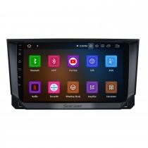 Android 11.0 pour 2018 Seat Ibiza / ARONA Radio Système de navigation GPS 9 pouces avec écran tactile Bluetooth HD Prise en charge Carplay DSP