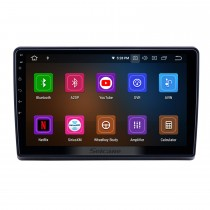10,1 pouces Android 9.0 Radio pour 2009-2019 Ford New Transit Bluetooth WIFI HD à écran tactile Navigation GPS Carplay support USB TPMS DAB +