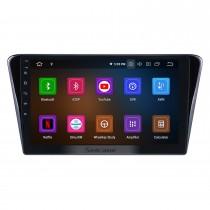 Écran tactile HD 10.1 pouces Android 11.0 Radio de navigation GPS pour 2014 Peugeot 408 avec Bluetooth wifi USB Support Carplay DVR DAB + Commande au volant