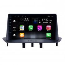 Android 10.0 9 pouces HD Radio de navigation GPS à écran tactile pour Renault Megane 3 2009-2014 avec prise en charge Bluetooth WIFI Carplay SWC